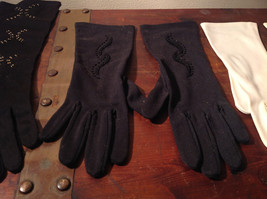 The Aspiring Aristocrat's Three Pair of Gloves Great For Any Occasion vintage image 3
