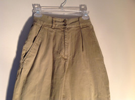 Timberland Weather Wear Size 6 Beige Pants Zipper Two Button in Front Closure image 2