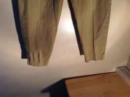 Timberland Weather Wear Size 6 Beige Pants Zipper Two Button in Front Closure image 4