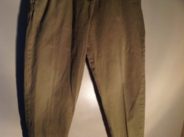 Timberland Weather Wear Size 6 Beige Pants Zipper Two Button in Front Closure image 3