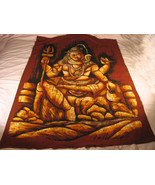 large Javan Batik-wall hanging.Various HIndu/Bud Deities-5 designs 100%c... - $38.51