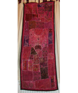 Exquisite Unique Rajastani Wallhanging. Hand-crafted, recycled hand-embe... - $69.03