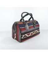 Vintage Kilim leather handbag, tote,shoulder,boho,ethnic,fashion, carry ... - $199.00