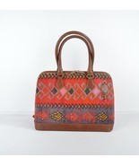 bags,handmade bags,bags and purses,leather bags,wool bags, rug leather b... - $189.00
