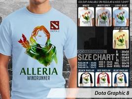 T Shirt Windranger DotA2 Theme Many Color  - $9.99+