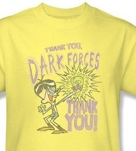 Dexter's Laboratory Thanks Dark Forces T shirt cartoon network cotton tee cn261 image 1