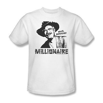 Beverly Hillbillies T shirt MILLIONAIRE retro TV show 100% cotton tee cbs158