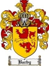 Barby Family Crest / Coat of Arms JPG or PDF Image Download - $6.99