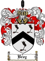 Primary image for Brey Family Crest / Coat of Arms JPG or PDF Image Download