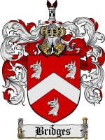 Primary image for Bridges Family Crest / Coat of Arms JPG or PDF Image Download