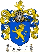 Primary image for Brigante Family Crest / Coat of Arms JPG or PDF Image Download