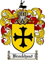 Primary image for Brockhead Family Crest / Coat of Arms JPG or PDF Image Download