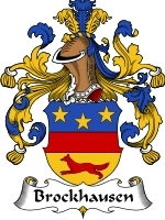 Primary image for Brockhausen Family Crest / Coat of Arms JPG or PDF Image Download