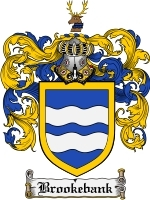 Primary image for Brookebank Family Crest / Coat of Arms JPG or PDF Image Download
