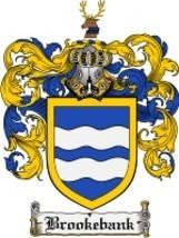 Brookebank Family Crest / Coat of Arms JPG or PDF Image Download - $6.99