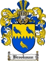 Primary image for Brookman Family Crest / Coat of Arms JPG or PDF Image Download