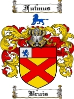 Primary image for Bruis Family Crest / Coat of Arms JPG or PDF Image Download