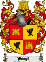 Primary image for Burgi Family Crest / Coat of Arms JPG or PDF Image Download