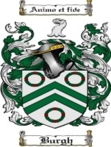 Burgh Family Crest / Coat of Arms JPG or PDF Image Download - $6.99