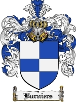 Primary image for Burniers Family Crest / Coat of Arms JPG or PDF Image Download