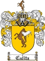 Primary image for Calitz Family Crest / Coat of Arms JPG or PDF Image Download