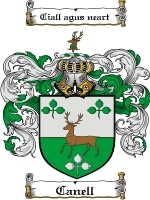 Primary image for Canell Family Crest / Coat of Arms JPG or PDF Image Download