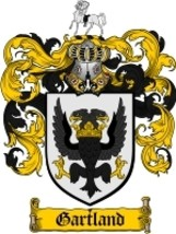 Gartland Family Crest / Coat of Arms JPG or PDF Image Download - $6.99