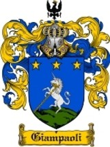 Giampaoli Family Crest / Coat of Arms JPG or PDF Image Download - $6.99