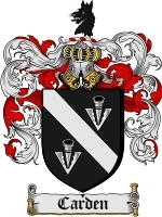 Primary image for Carden Family Crest / Coat of Arms JPG or PDF Image Download