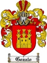 Gozalo Family Crest / Coat of Arms JPG or PDF Image Download - $6.99