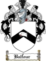 Balfour Family Crest / Coat of Arms JPG or PDF Image Download - $6.99