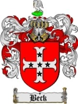 Beck Family Crest / Coat of Arms JPG or PDF Image Download - $6.99