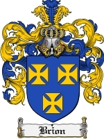 Primary image for Brion Family Crest / Coat of Arms JPG or PDF Image Download