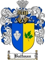 Primary image for Bultman Family Crest / Coat of Arms JPG or PDF Image Download