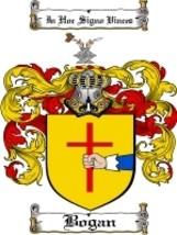 Bogan Family Crest / Coat of Arms JPG or PDF Image Download - $6.99