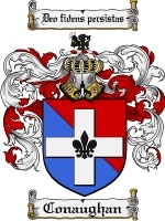 Conaughan Family Crest / Coat of Arms JPG or PDF Image Download