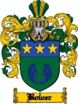 Bower Family Crest / Coat of Arms JPG or PDF Image Download - $6.99