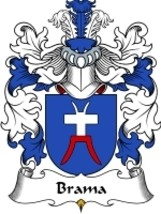 Brama Family Crest / Coat of Arms JPG or PDF Image Download - $6.99