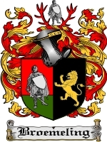 Primary image for Broemeling Family Crest / Coat of Arms JPG or PDF Image Download