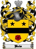 Primary image for Buis Family Crest / Coat of Arms JPG or PDF Image Download