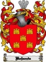 Bujanda Family Crest / Coat of Arms JPG or PDF Image Download - $6.99