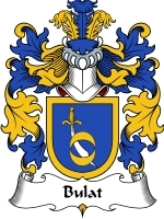 Primary image for Bulat Family Crest / Coat of Arms JPG or PDF Image Download