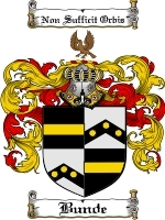 Primary image for Bunde Family Crest / Coat of Arms JPG or PDF Image Download
