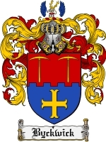 Primary image for Byckwick Family Crest / Coat of Arms JPG or PDF Image Download