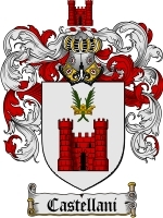 Primary image for Castellani Family Crest / Coat of Arms JPG or PDF Image Download