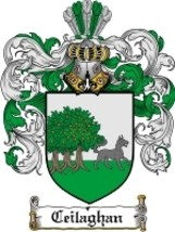 Ceilaghan Family Crest / Coat of Arms JPG or PDF Image Download - $6.99