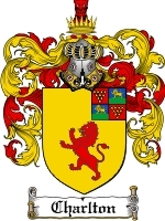 Primary image for Charlton Family Crest / Coat of Arms JPG or PDF Image Download