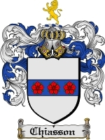 Primary image for Chiasson Family Crest / Coat of Arms JPG or PDF Image Download
