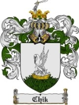 Chik Family Crest / Coat of Arms JPG or PDF Image Download - $6.99