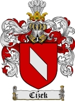 Primary image for Cizek Family Crest / Coat of Arms JPG or PDF Image Download